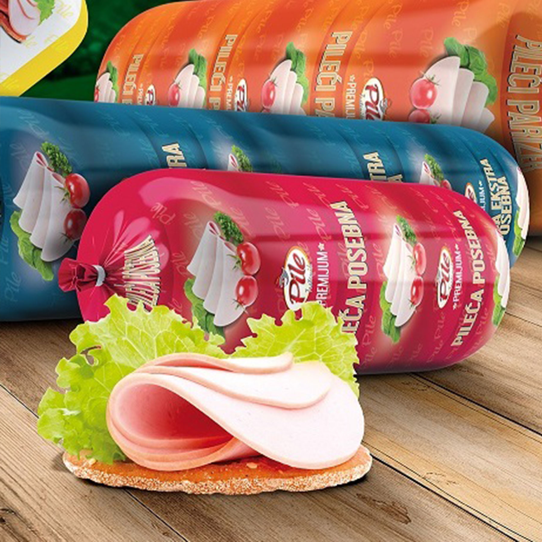 Pileće salame - Pile Trstenik